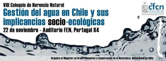 Gestión del agua en Chile y sus implicancias socio-ecológicas